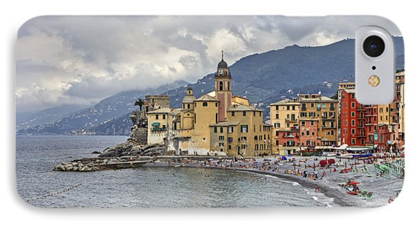 Lungomare In Camogli Phone Case by Joana Kruse