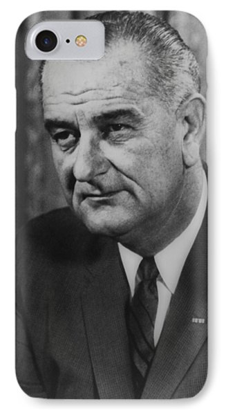 Lyndon B Johnson Phone Case by International  Images