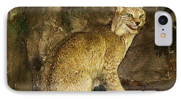Lynx IPhone Case by Bill Cannon
