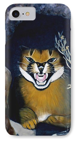 Lynx Phone Case by Caroline Street
