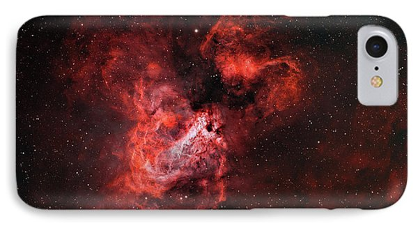 M17, The Omega Nebula IPhone Case by Rolf Geissinger