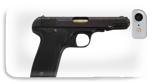 Mab Model D French Police Issue Pistol Phone Case by Andrew Chittock