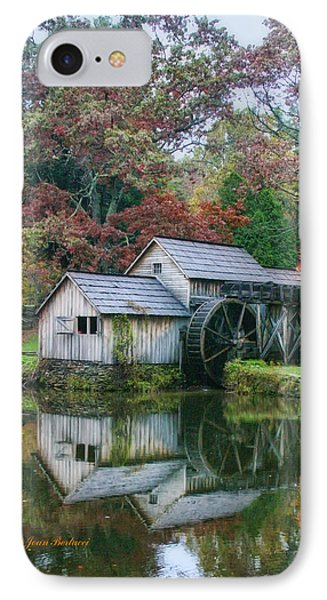 IPhone Case featuring the photograph Mabry Mill by Joan Bertucci