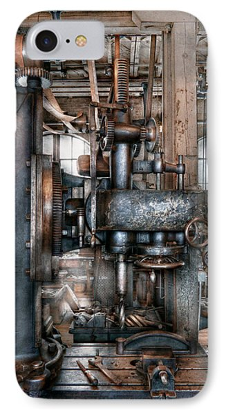 Machinist - My Really Cool Job Phone Case by Mike Savad
