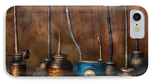 Machinist - Tools - Lubrication Dispensers  Phone Case by Mike Savad