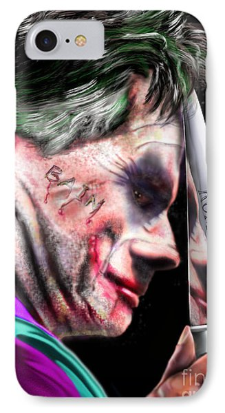 Mad Men Series 2 Of 6 - Romney The Joker IPhone Case by Reggie Duffie