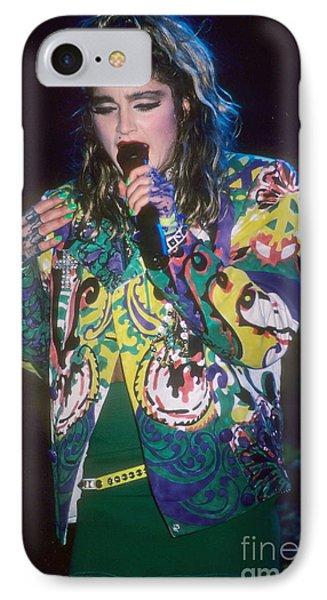 Madonna 1985 Phone Case by David Plastik