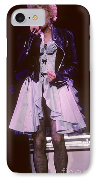 Madonna 1987 B Phone Case by David Plastik