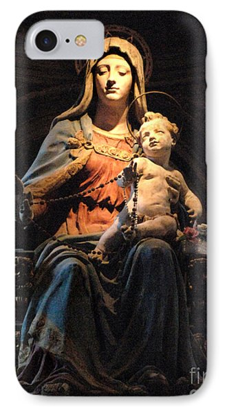 Madonna And Jesus Phone Case by Bob Christopher