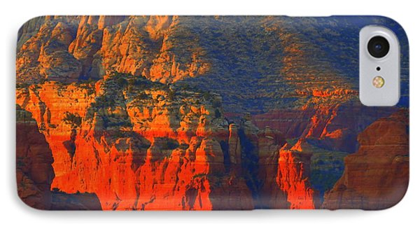 Red Rock Country Glow IPhone Case by Mistys DesertSerenity