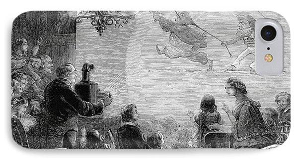 Magic Lantern, 1858 IPhone Case by Granger