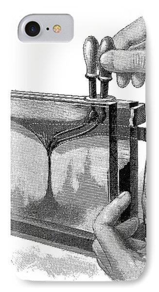 Magic Lantern Display, 19th Century IPhone Case by