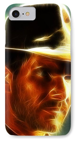 Magical Indiana Jones Phone Case by Paul Van Scott