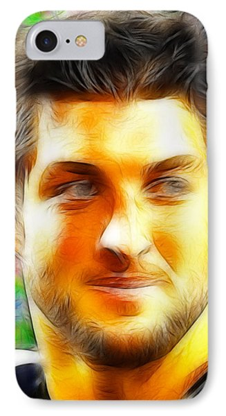 Magical Tim Tebow Face IPhone Case