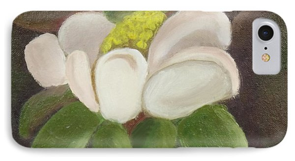 Magnificient Magnolia IPhone Case by Margaret Harmon