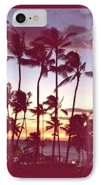 Mahalo For This Day IPhone Case by Beth Saffer