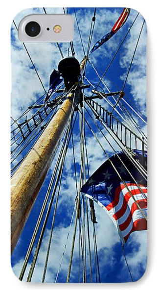 IPhone Case featuring the photograph Main Rigging by Randall  Cogle