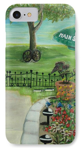 IPhone Case featuring the painting Main Street by Bernadette Krupa