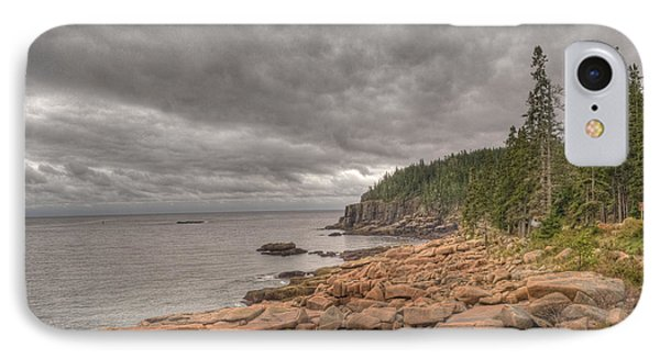 Maine Coastline. Acadia National Park IPhone Case