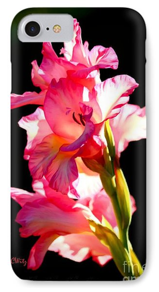 Majestic Gladiolus IPhone Case by Patrick Witz