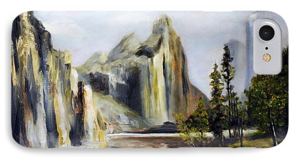 Majestic Mountains Phone Case by Phil Burton