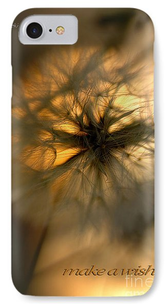 Make A Wish IPhone Case by Vicki Ferrari