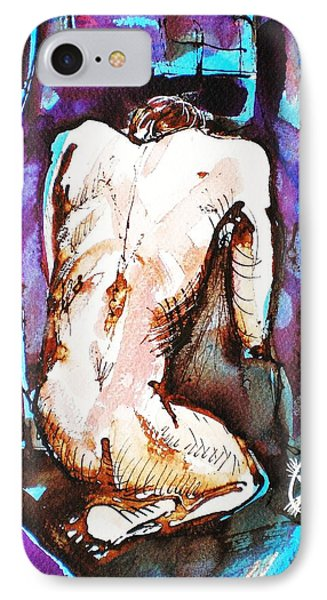 Male Nude Phone Case by Ion vincent DAnu