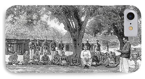Malietoa Laupepa (1841-1898) IPhone Case by Granger