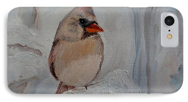 IPhone Case featuring the painting Mama's On Her Way Home by Julie Brugh Riffey