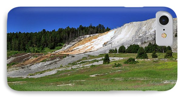 Mammoth Hot Springs Lower Terrace Phone Case by Louise Heusinkveld