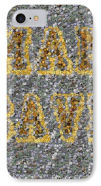 Man Cave Coin Mosaic Phone Case by Paul Van Scott