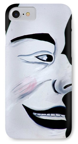 Man In The Moon Phone Case by Jeff Lowe