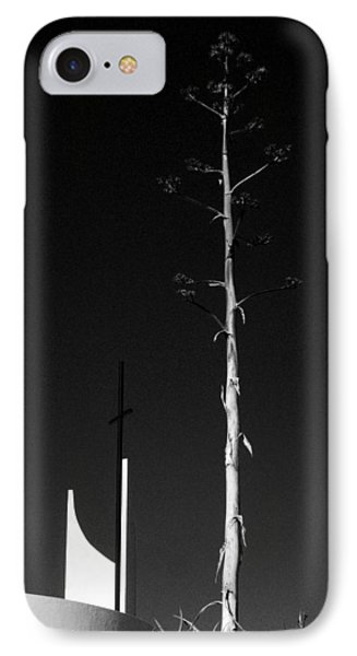 Man Versus God In The Desert IPhone Case by Louis Nugent