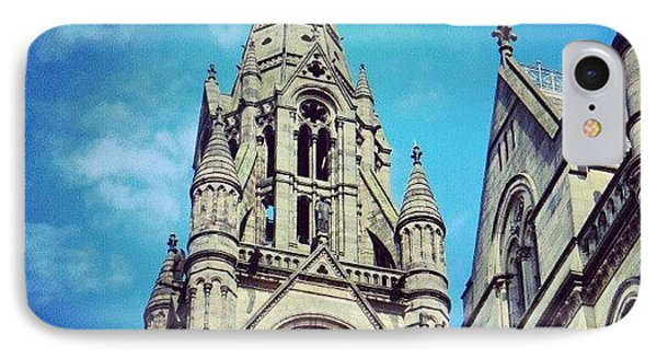 #manchester #buildings #classic IPhone Case