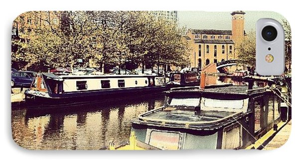 #manchester #manchestercanal #canal IPhone Case by Abdelrahman Alawwad