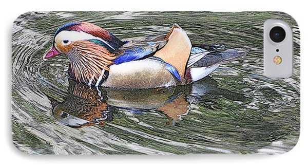 IPhone Case featuring the photograph Mandarin Duck  by Lydia Holly