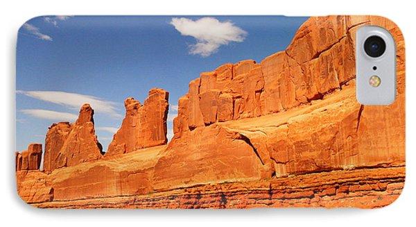 Manhatten In Utah Phone Case by Jeff Swan