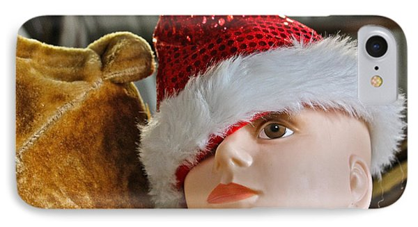 IPhone Case featuring the photograph Manniquin Santa 2 by Bill Owen