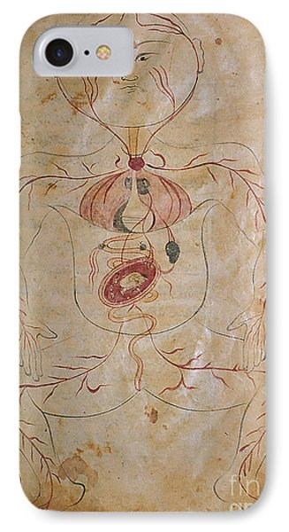 Mansurs Anatomy, Pregnant Woman, 15th Phone Case by Science Source