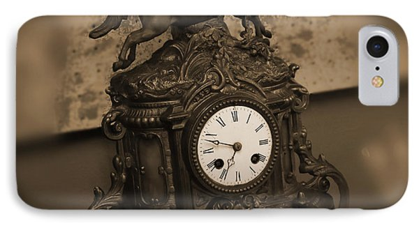 Mantel Clock Phone Case by Mike McGlothlen