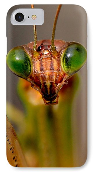 Mantis Eyes IPhone Case by William Jobes
