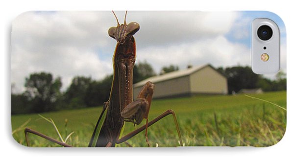 IPhone Case featuring the photograph Mantis by John Crothers