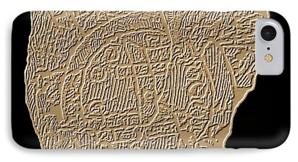 Map Of Mesopotamia Phone Case by Sheila Terry