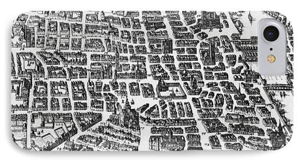 Map Of Paris Phone Case by German School