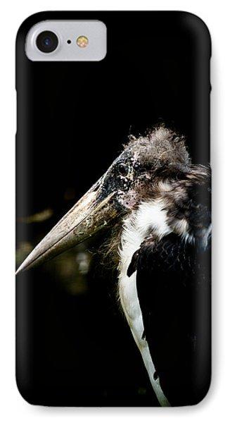 Marabou Stork Phone Case by Hakon Soreide