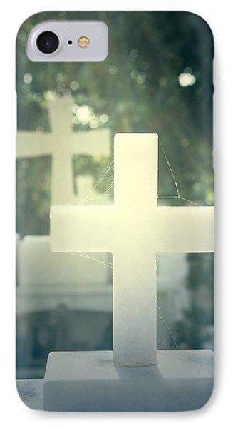 Marble Crosses Phone Case by Joana Kruse