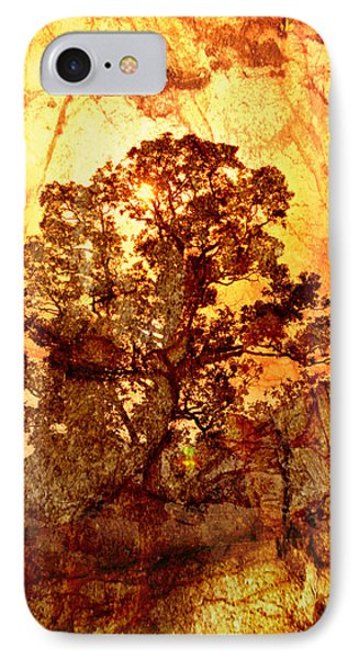 Marbled Tree Phone Case by Marty Koch