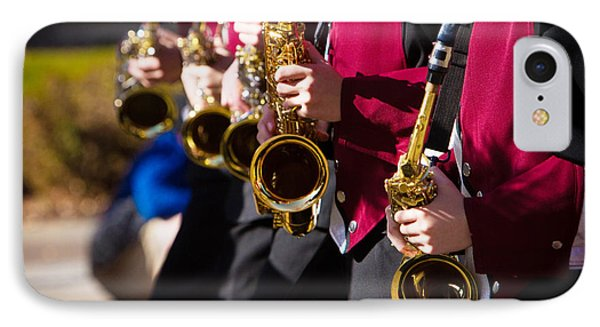 Marching Band Saxophones  Phone Case by James BO  Insogna