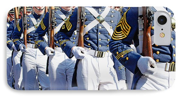 Mardi Gras Marching Soldiers Phone Case by Kathleen K Parker
