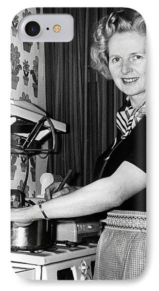 Margaret Thatcher (1925- ) Phone Case by Granger